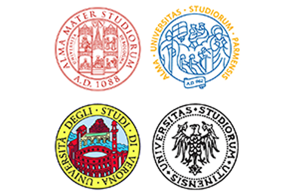 Universities of Bologna, Parma, Verona and Udine