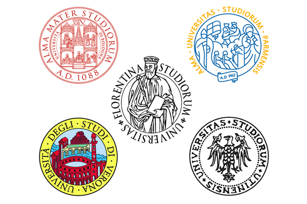 Universities of Bologna, Firenze, Parma, Verona and Udine